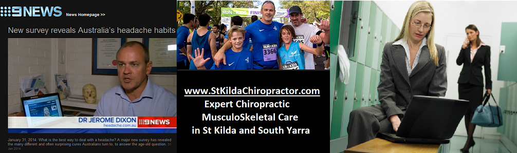 Practitioner Profile Dr Jerome Dixon at StKildaChiropractor.com